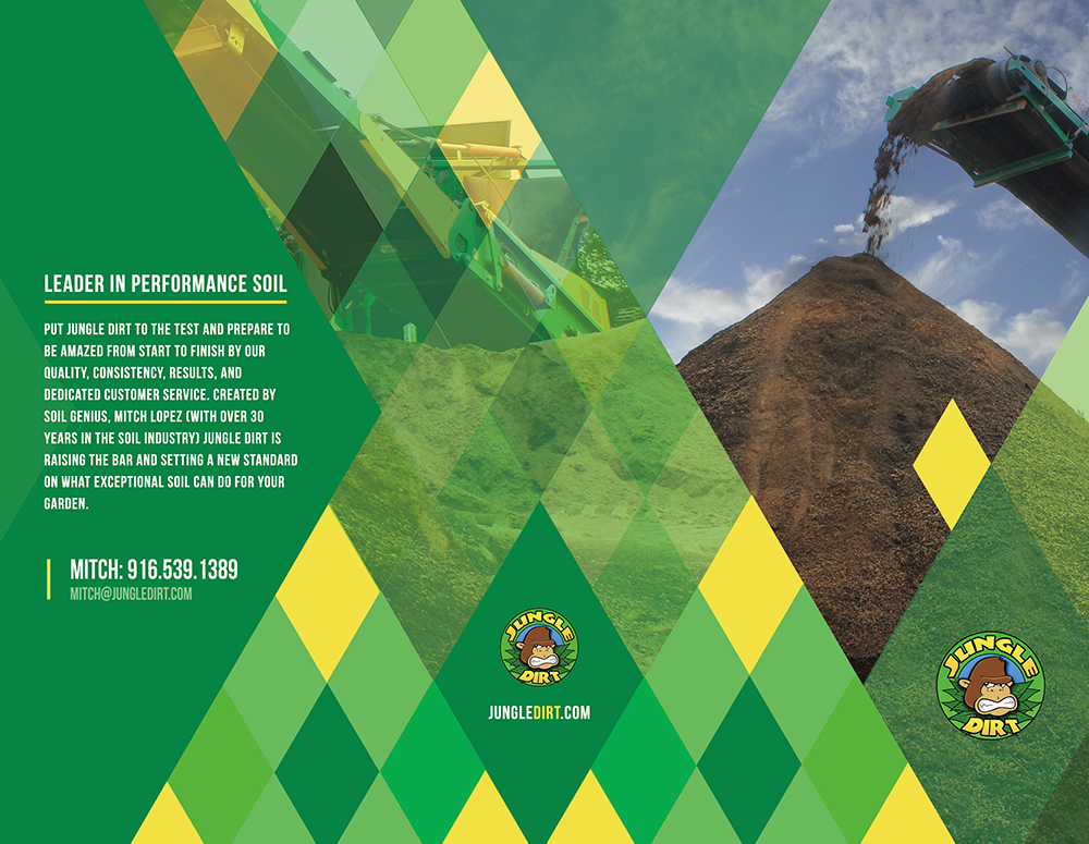 Jungle Dirt Brochure - Graphic Design