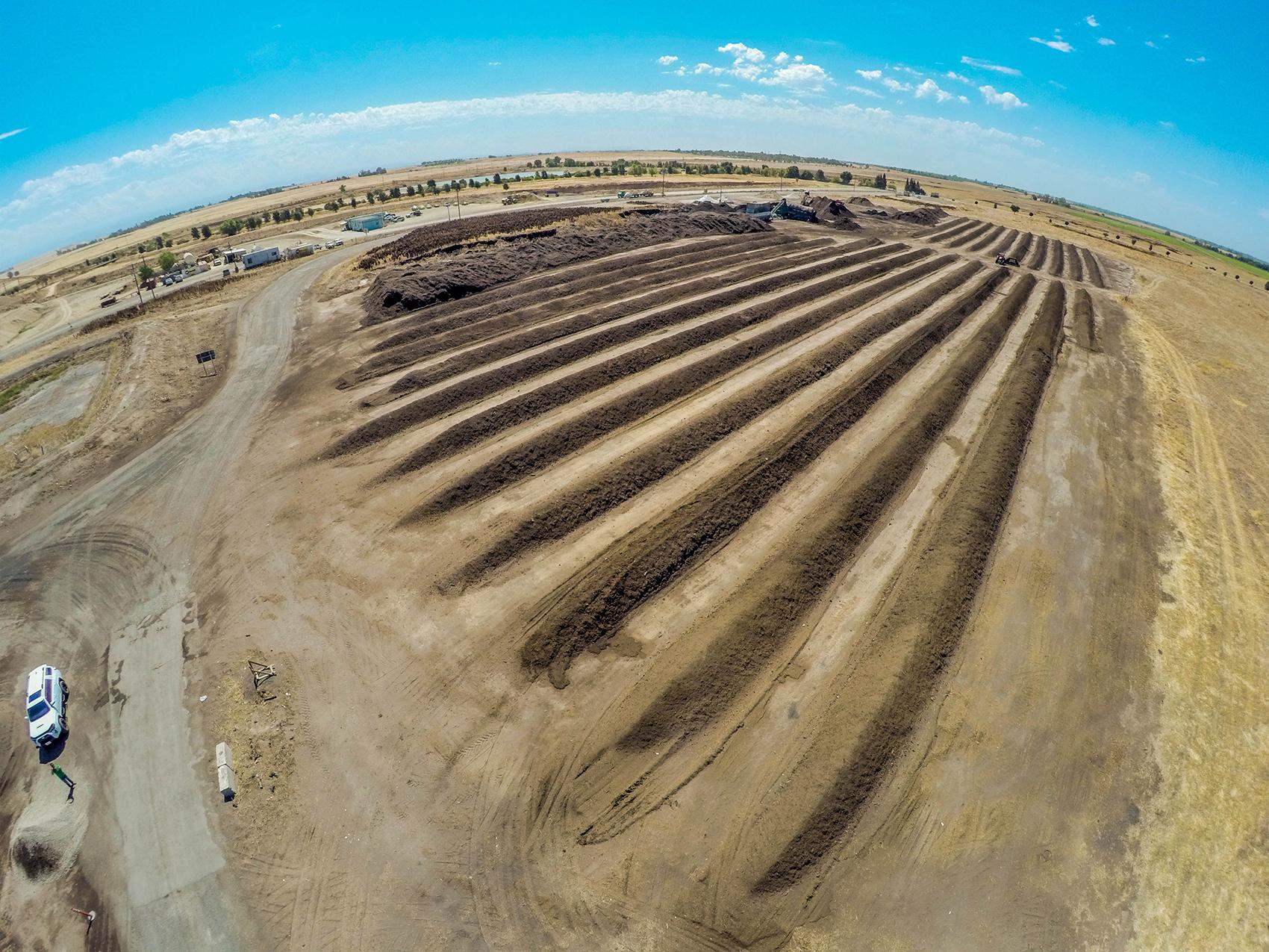Aerial Drone Photography Sacramento - Lopez Ag