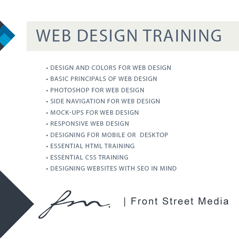 Web Design Training El Dorado Hills