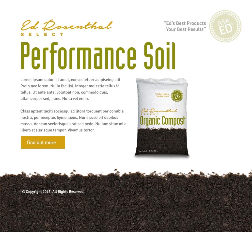 Ed Rosenthal Soil Web Design