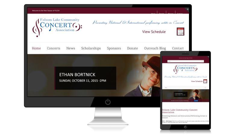 FLCCA Website Design