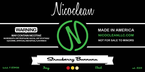 NicoClean_LLC_Label_Design