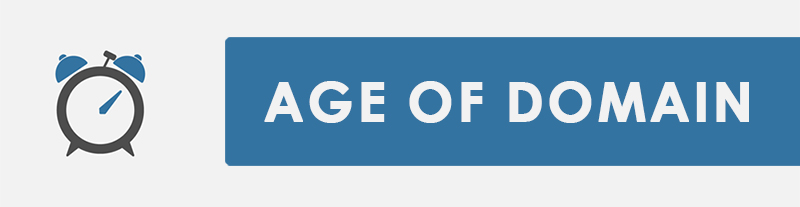 Age of Domain Name