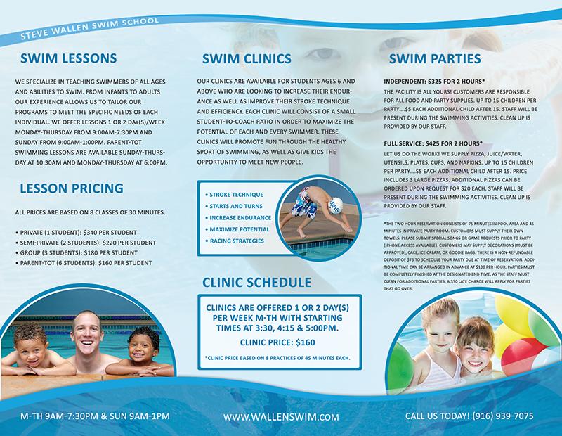 Brochure Graphic Design Tri-fold